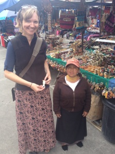 lady in markets